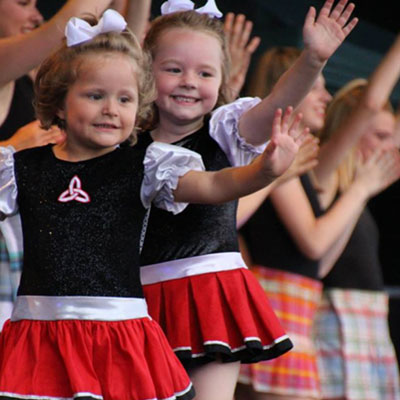 Young Irish Dancers