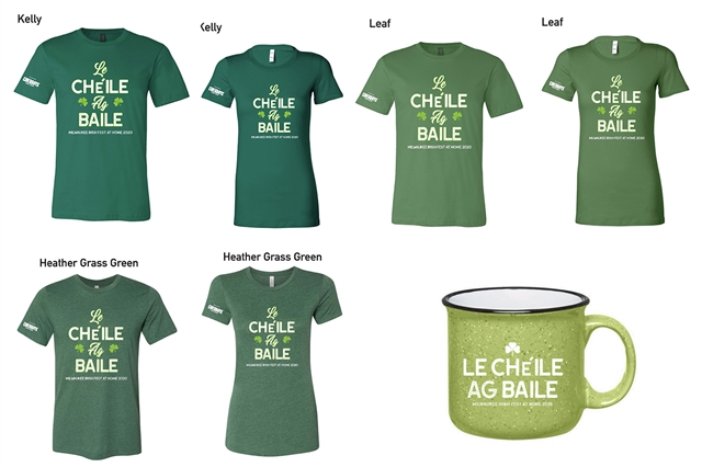 Milwaukee Irish Fest Le Cheile Collection