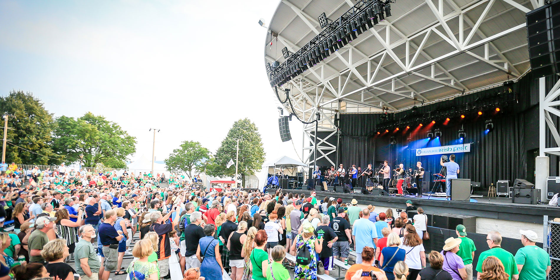 Irish Fest Crowd