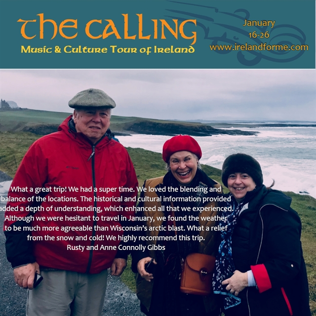 Music and Cultural Tour of Ireland testimonials