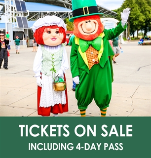 2019 Milwaukee Irish Fest Tickets