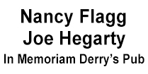 Nancy Flagg and Joe Hegarty Irish Fest Sponsors