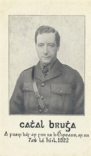 Cathal Brugha - Postcards from the 1916 Irish Rebellion Exhibit - Ward Irish Music Archives Exhibit
