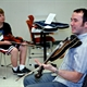 Daire Bracken teaching fiddle at the 2010 Milwaukee Irish Fest Summer School.