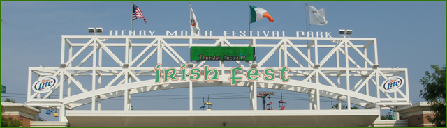 Irish Fest Entrance