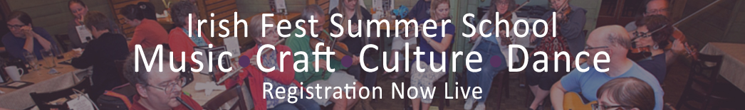 Irish Fest Summer School Registration